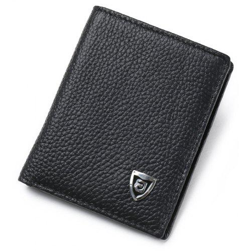 JINBAOLAI Genuine Leather Version of The Ultra-thin Ultra-soft Men Wallet