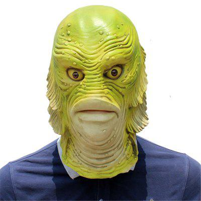 Halloween Cosplay Strange Fish Head Mask for Fancy Ball Party Show
