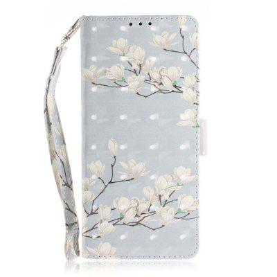 Para Samsung NOTE 9 Wallet Phone Case 3D Painted Pattern Premium PU cuero