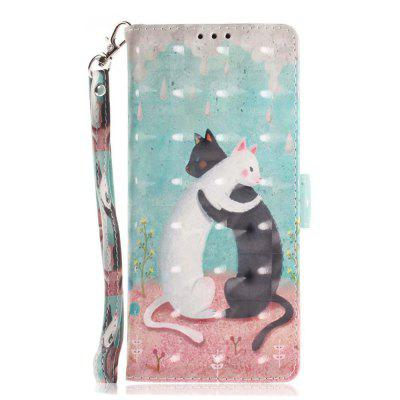 For Samsung NOTE 9 Wallet phone Case 3D Painted Pattern Premium PU Leather