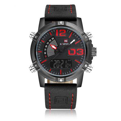 NAVIFORCE Fashion Luxury Brand Men Waterproof Military Sports Watches