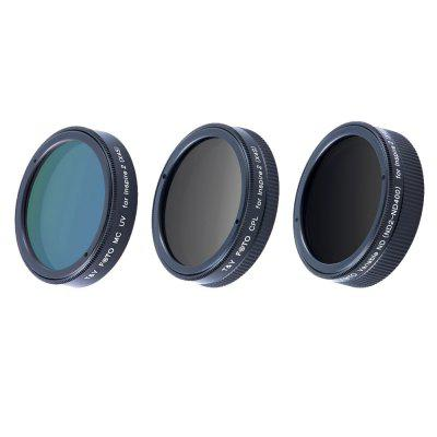 Buy 3PCS CPL+MCUV+ND2-ND400 Filter Kit for DJI Insprise 2 X4S Drone GEARBEST