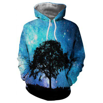 Landscape Photography Printing Personalized Fashion Men's Hooded Sweater