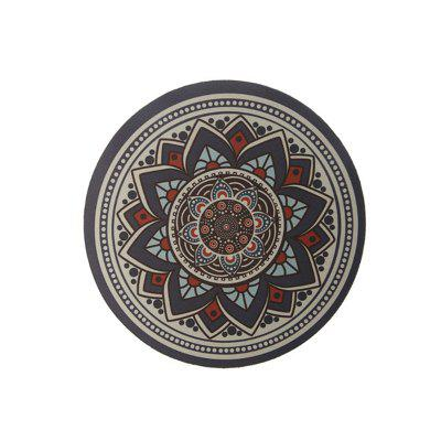Bohemian Round Anti Skid Rubber Mouse Pad