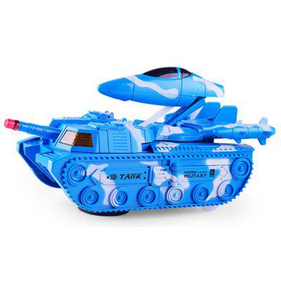 Deformation Universal Tank Deformation Aircraft with Sound Effects Model Toys