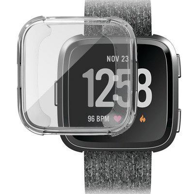 Чехол для Fitbit Versa Smart Watch Full Protect Soft TPU Transparent