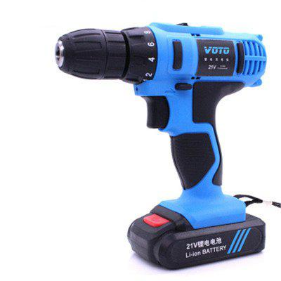VOTO AC 100 - 240V Cordless 21V Electric Screwdriver Drill with Lithium