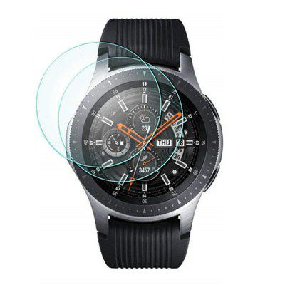 HONHX Tempered Glass Film Screen Protector for Samsung Galaxy Watch 46mm 2pcs