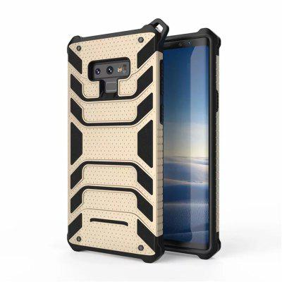 Rugged Soft TPU PC Twill Cover Case for Samsung Galaxy Note 9