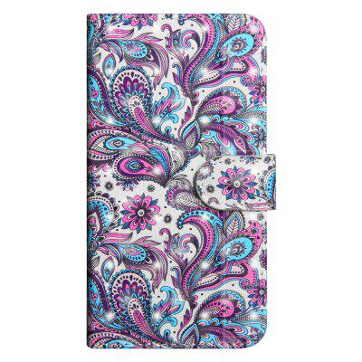 3D Color Painting für Motorola Moto E4 Plus EU Version Fall Flip Wallet Cover