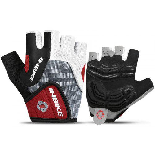 Half Finger Cycling Bike Gloves with Absorbing Sweat Design for Men and Women