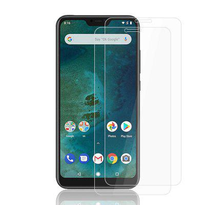 2PCS 9H Tempered Glass Screen Protector Film for Xiaomi Mi A2 Lite