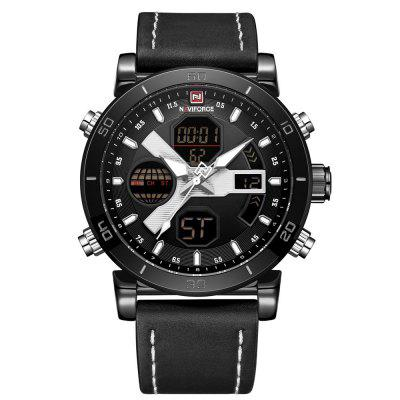 NAVIFORCE Top Luxury Brand Men's Fashion Quartz Digital Sport Watches