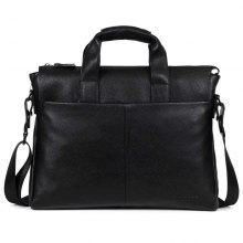 a454c0276cd6 DANJUE Genuine Leather Men Business Briefcase Real Leather Laptop Bag