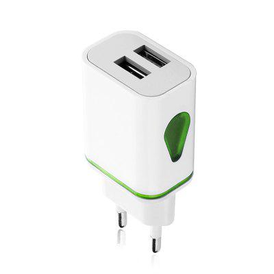 JOFLO 5V 3.1A Dual USB Port Travel Charger Wall Adapter