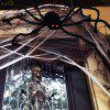 30cm Spider Toys Tricky Tool Prop Toys for Halloween Day Haunted House - BLACK