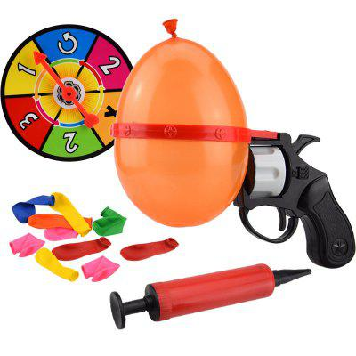 Roulette Gas Ball Gun Water  Kids Outdoor Interesting Toys