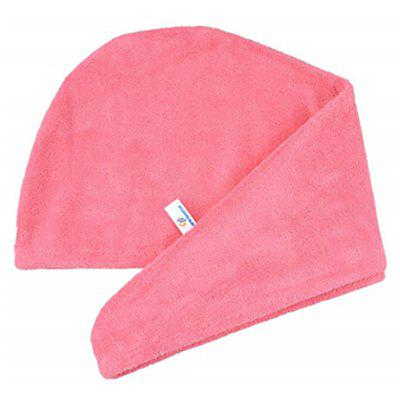 Quickly Dry Hair Hat Microfiber Solid Hair Turban
