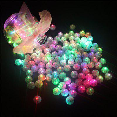 10PCS LED Round Ball Balloon Light Paper Lantern Wedding Party Decor