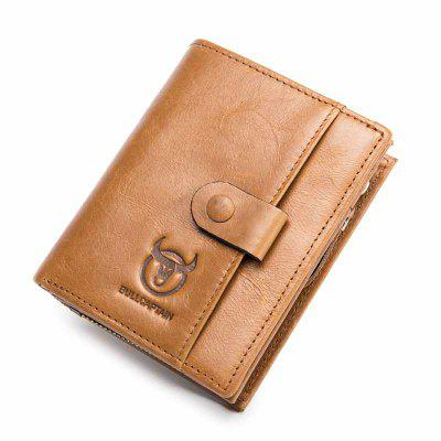Men's Wallet Leather Card Coin Bag