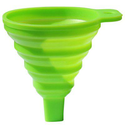 silicone collapsible funnel for liquid transfer kitchen tool - Kitchen Funnel