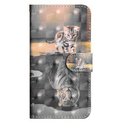 3D Color Painting for Sony Xperia L1 / E6 Case Flip Wallet Cover