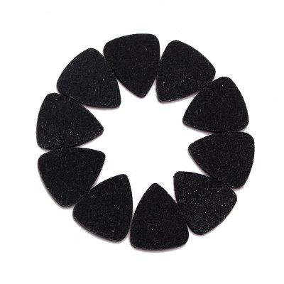 10PCS Wool Felt Guitar Pick Up