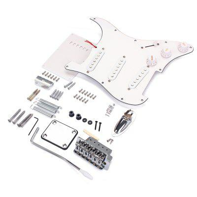 Electric Guitar St Style Accesorii complete Kit White