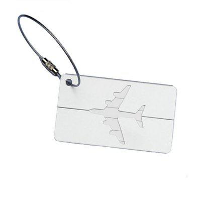 Aluminum Alloy Luggage Tags Travel ID Labels for Baggage Suitcases and Bags