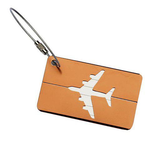 ee5e98b608f8 Aluminum Alloy Luggage Tags Travel ID Labels for Baggage Suitcases and Bags