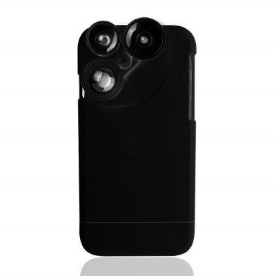 4 in 1 Camera Lens Phone Protective Case Cover for iPhone 7 / 8