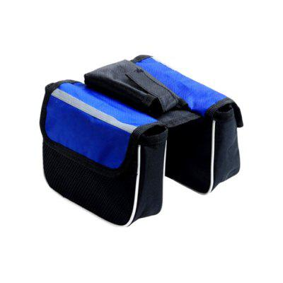 Water Resistant Bike Front Frame Top Tube Bicycle Mobile Phone Bag