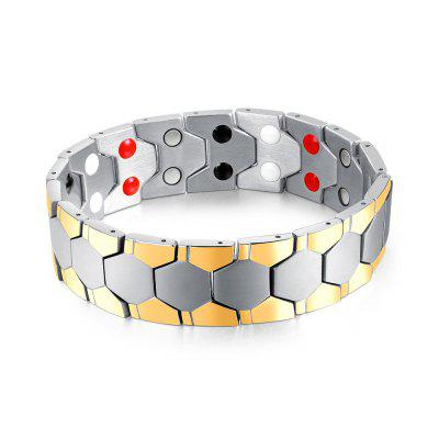 Cool Magnetic Stainless Steel Bracelet Men Jewelry Gift