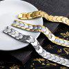 Cool Magnetic Stainless Steel Bracelet Men Jewelry Gift - WHITE