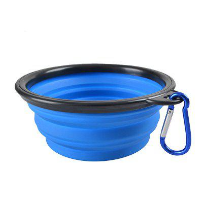 Collapsible Pet Silicone Bowl