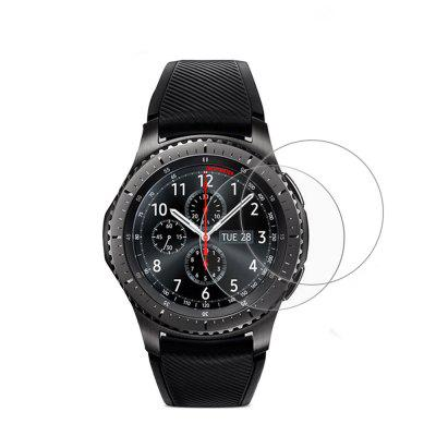 2pcs Tempered Glass Screen Protector Film For Samsung Gear S3