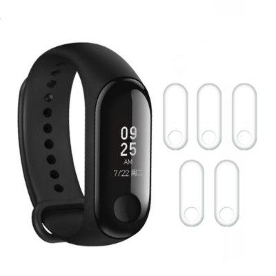 5PCS TPU Screen Protector Films for Xiaomi Mi Band 3