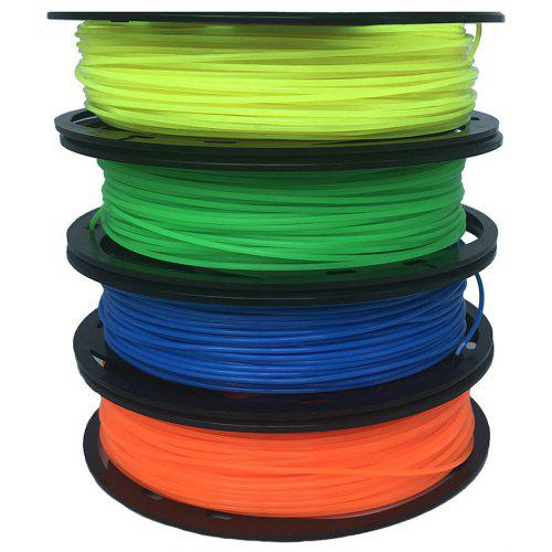 CCTREE 3D Printer PLA 1.75mm 4 Color Pack 200g For CR10 Ender 3 Fluorescent