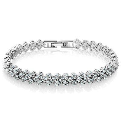 Mode Diamant Kristall Luxus Damen Armband