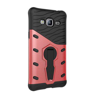 Protection Cover with Heavy Armored Mobile Phone Case for Samsung J2 Prime