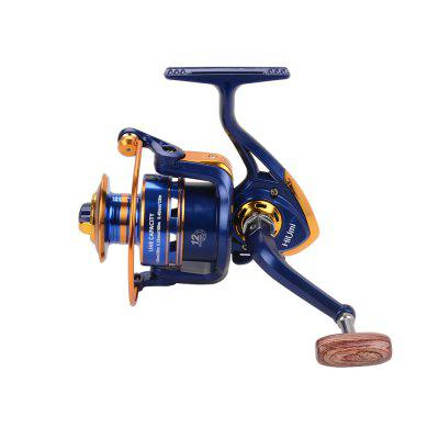 Spinning Reel Ultra-thin Pesca Carrete Exchangable Foldable Handle Fishing Reel