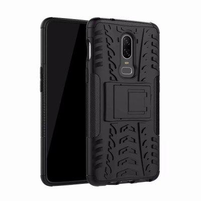 Shockproof Back Cover Armor Hard Silicone Case for Oneplus 6