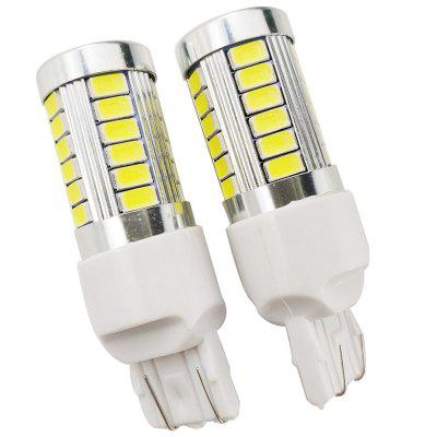 2PCS 6.6W 400LM T20 7443 LED Brake Light DRL White Color