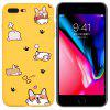 Cute Dog Candy Color Mobile Shell Soft Case Cover for iPhone 7  Plus /  8  Plus - MULTI