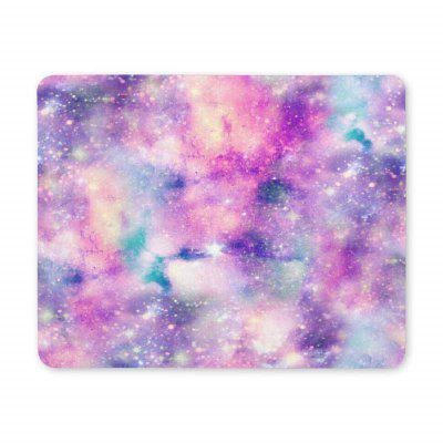 Non Slip cauciuc Gaming Purple Light Mousepad