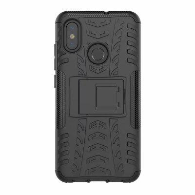 Shockproof Back Cover Armor Hard Silicone Case for Xiaomi Mi 8