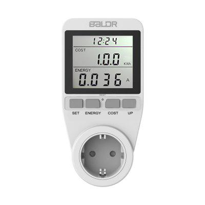 BALDR Power Energy Consumption Watt Meter Electricity Usage Monitor Socket