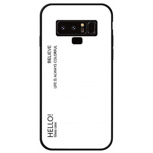 low priced a1097 0eec7 Gradient Tempered Glass Case for Samsung Galaxy Note 9