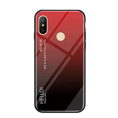 Gradient Tempered Glass Case voor Redmi Note 5 Pro