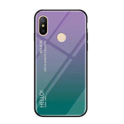 Gradient Tempered Glass Case for Redmi S2